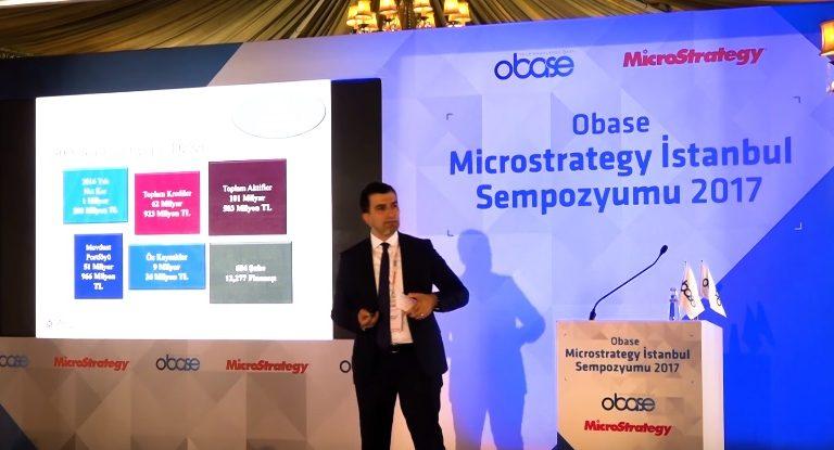 Obase MicroStrategy İstanbul Sempozyumu 2017