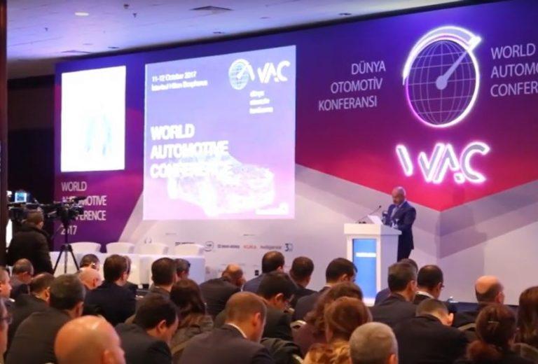Dünya Otomotiv Konferansı İstanbul'da gerçekleşti