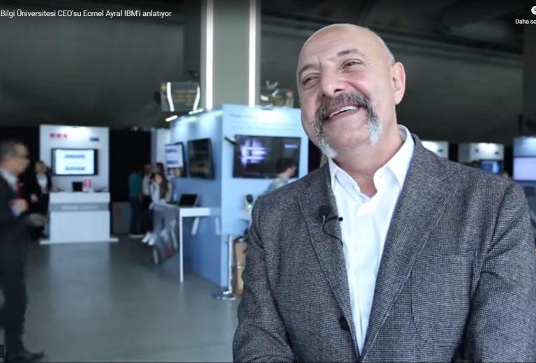 İstanbul Bilgi Üniversitesi, IBM ile başlatmış oldukları projeyi anlatıyor