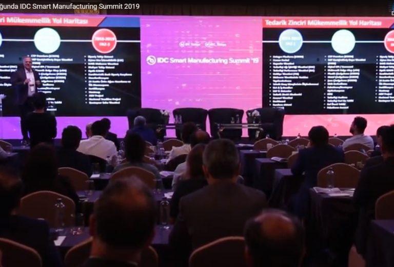 ICRON Sponsorluğunda IDC Smart Manufacturing Summit 2019