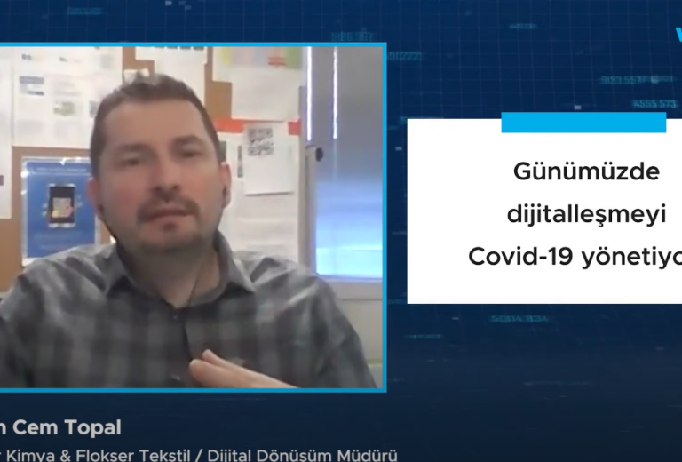 Günümüzde dijitalleşmeyi Covid-19 yönetiyor